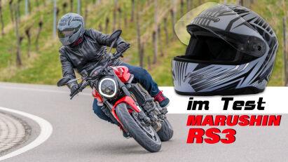 Marushin RS3 Integralhelm im Test
