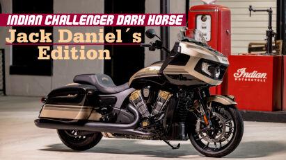 Indian Challenger Dark Horse Jack Daniel