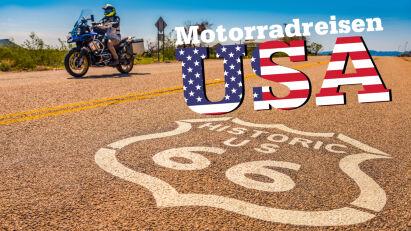 Motorradreisen in die USA - Einreiseverbot aufgehoben