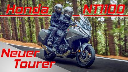 Honda NT1100: Tourer mit Africa-Twin-Motor