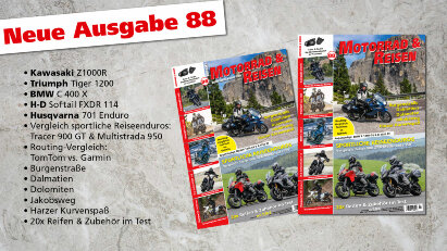 Motorrad & Reisen Ausgabe 88