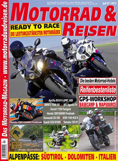 Motorrad & Reisen 07/13