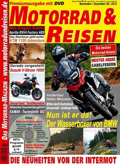 Motorrad & Reisen 06/12 mit DVD