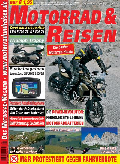 Motorrad & Reisen 05/12 mit DVD