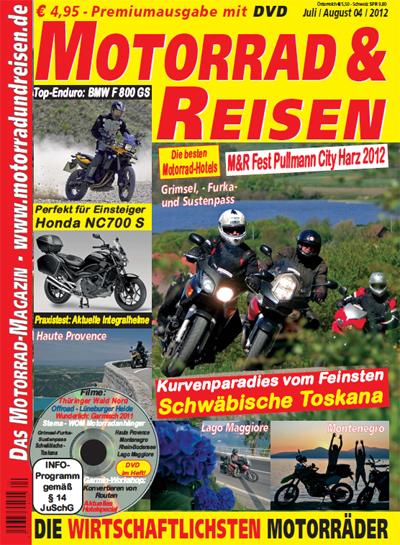 Motorrad & Reisen 04/12 mit DVD
