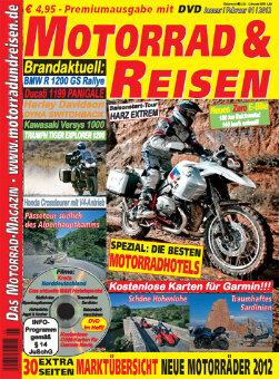 Motorrad & Reisen 01/12 mit DVD