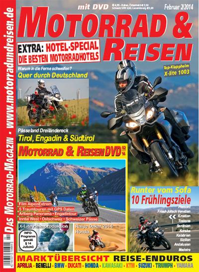 Motorrad & Reisen 02/14 mit DVD