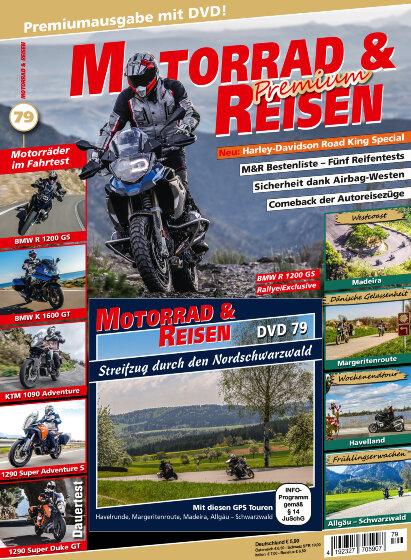 Motorrad & Reisen Premium-Ausgabe 79 mit DVD