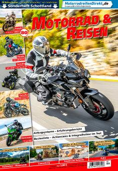 Motorrad & Reisen Ausgabe 80 mit Sonderheft Schottland