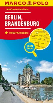 MARCO POLO Karte Deutschland Blatt 4 Berlin, Brandenburg 1:200 000