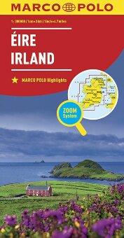 MARCO POLO Länderkarte Irland 1:300 000