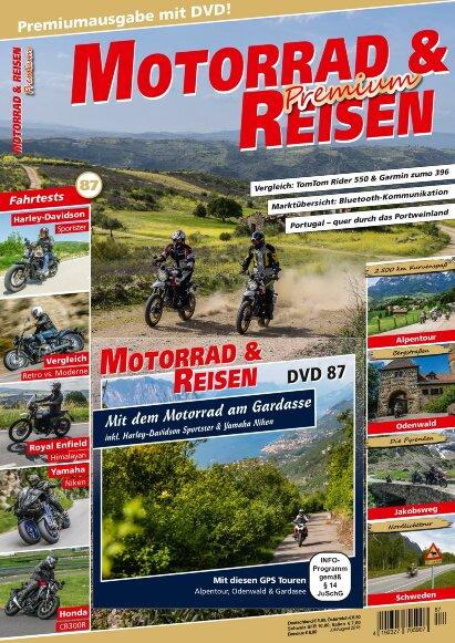 Motorrad & Reisen Premium-Ausgabe 87 mit DVD