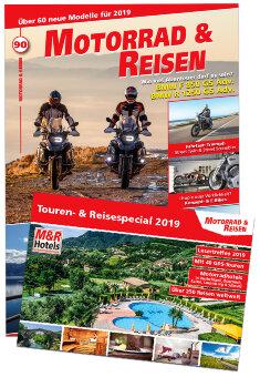 Motorrad & Reisen Premium-Ausgabe 90 mit Reisespecial 2019