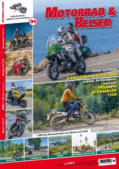 Motorrad & Reisen Premium-Ausgabe 91 mit Tourerspecial