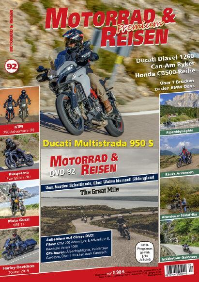 Motorrad & Reisen Premium-Ausgabe 92 mit DVD