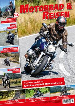 Motorrad & Reisen Premium-Ausgabe 94 mit Herbsttouren-Special
