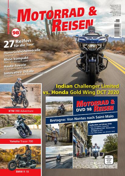 Motorrad & Reisen Premium-Ausgabe 98 mit DVD