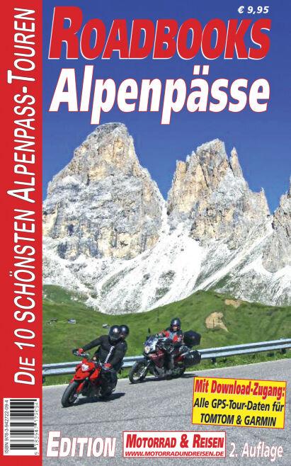 Roadbooks Alpenpässe