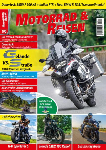 Motorrad & Reisen Ausgabe 106