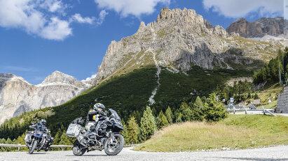 Motorradtour Alpenhighlights