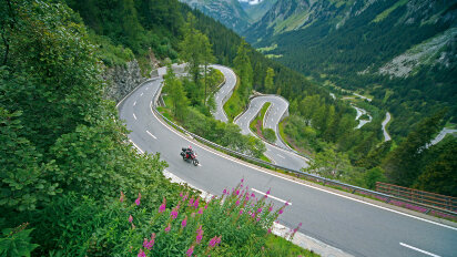 Motorradtour Transalp Traumstrecke Nizza - Wien Teil I & II