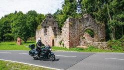 Motorradtour: Burgen und Burgruinen auf der Spur Durch den Odenwald und den Spessart