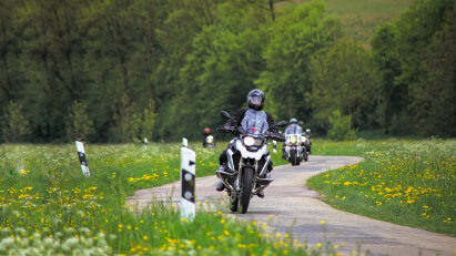 Motorradtour Romantisches Deutschland