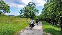 Motorradtour Sächsisch-böhmische Silberstraße: Durch Oberfranken ins Erzgebirge