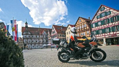 Motorradtour Mitten durch Deutschland - Auf den Spuren der Deutschen Fachwerkstraße