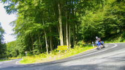 Motorradtour: Reinhardswald