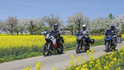 Motorradtour Maibaum-Kontroll-Fahrt durch den Schwarzwald