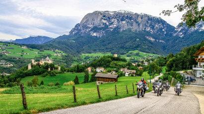 Motorradtour Auf ins Hochgebirge Alpentour