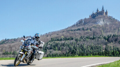 Motorradtour Faszination Zollernalb