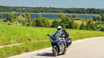 Motorradtour Chiemgau - Bayerisches Meer