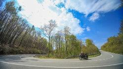 Motorradtour: Kyffhäuser - Von Affen und starken Kurven