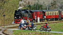 Motorradtour: Von Braunschweig in den Hochharz - 1000 Schräglagen