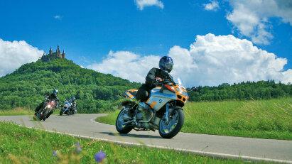 Motorradtour Schwäbische Alb - Einfach nur herrlich!