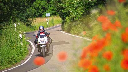 Motorradtour Quer durch Deutschland - Ganz spontan auf Tour