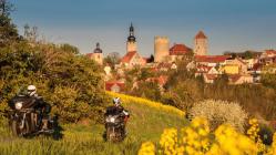 Motorradtour: Go East - Frühlingstour