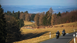Motorradtour Frühstart: Harz-Thüringer Wald