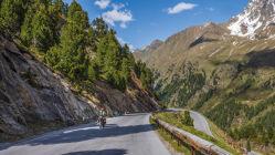 Motorradtour Von den Almweiden bis zum ewigen Eis: Hahntennjoch & Kaunertaler Gletscher