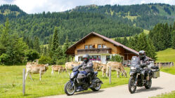 Motorradtour Kultur und Natur vor den Allgäuer Hochalpen: Oberallgäu