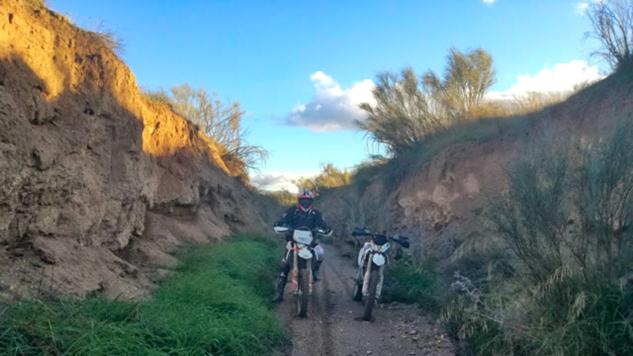 Motorradreise - Enduro Andalusien