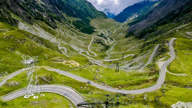 Motorradreise - Rumänien - Die Südkarpaten