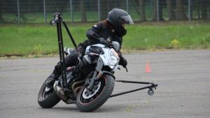 Motorradreise Schräglagen – Training Intensiv (Einzeltraining)