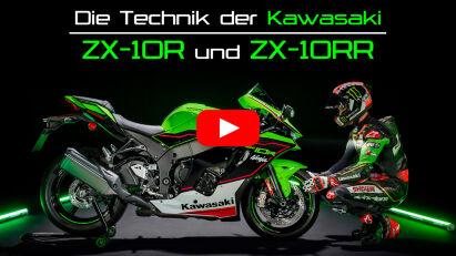 Die Technik der Kawasaki ZX-10R und ZX-10RR