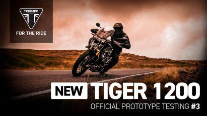 Triumph Tiger 1200 - erste Fahraufnahmen