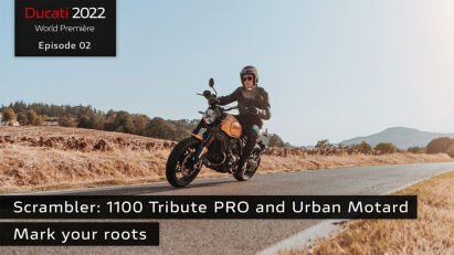 Ducati Scrambler 1100 Tribute Pro & Urban Motard
